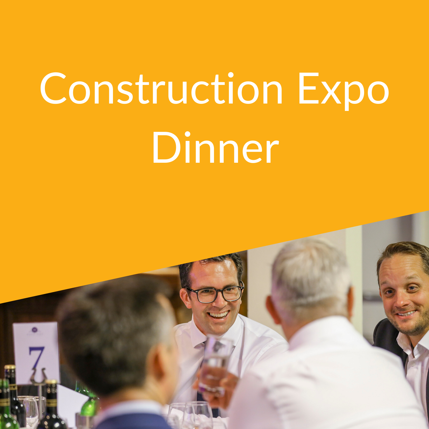 South East Construction Expo Dinner